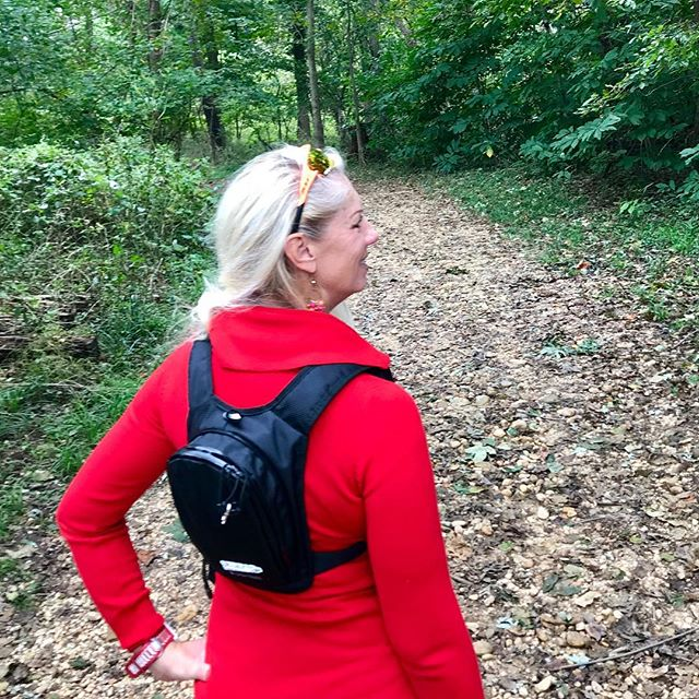 You're on a short hike, so lighten up some. Roosevelt Island #vrypac #dc #rooseveltisland #washingtondc #hike #hiking #trailrunning #trail #babybackpack