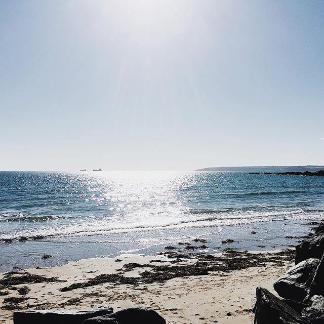 ✨ #sea #sun #ocean #sand #beach #coast #nature #horizon #cornwall #waves #seasparkles