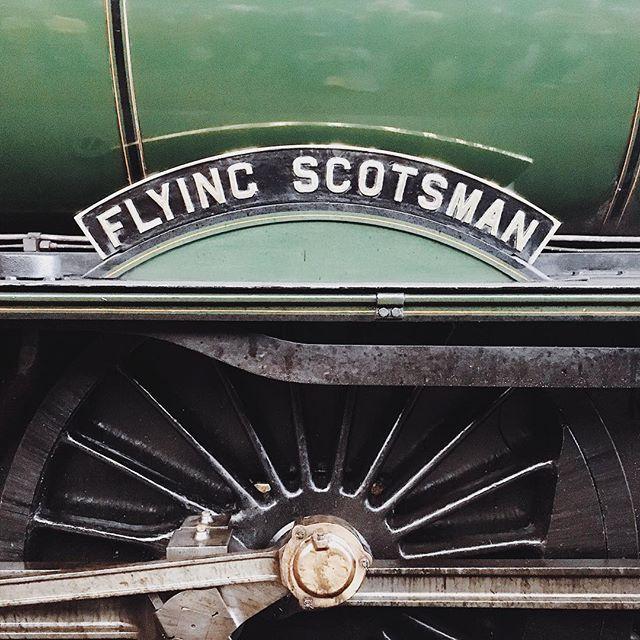 Trainspotting #flyingscotsman #penzance #railway #steamlocomotive #locomotive #train #trainspotting #railwaystation #cornwall