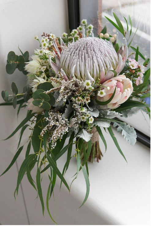 Native Flowers & Stem Bouquet