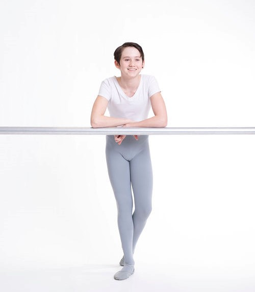 Florian Addiscott, 14, has been an Alberta Ballet School scholarship student who benefits from the generous contributions to the Scholarship Fund.