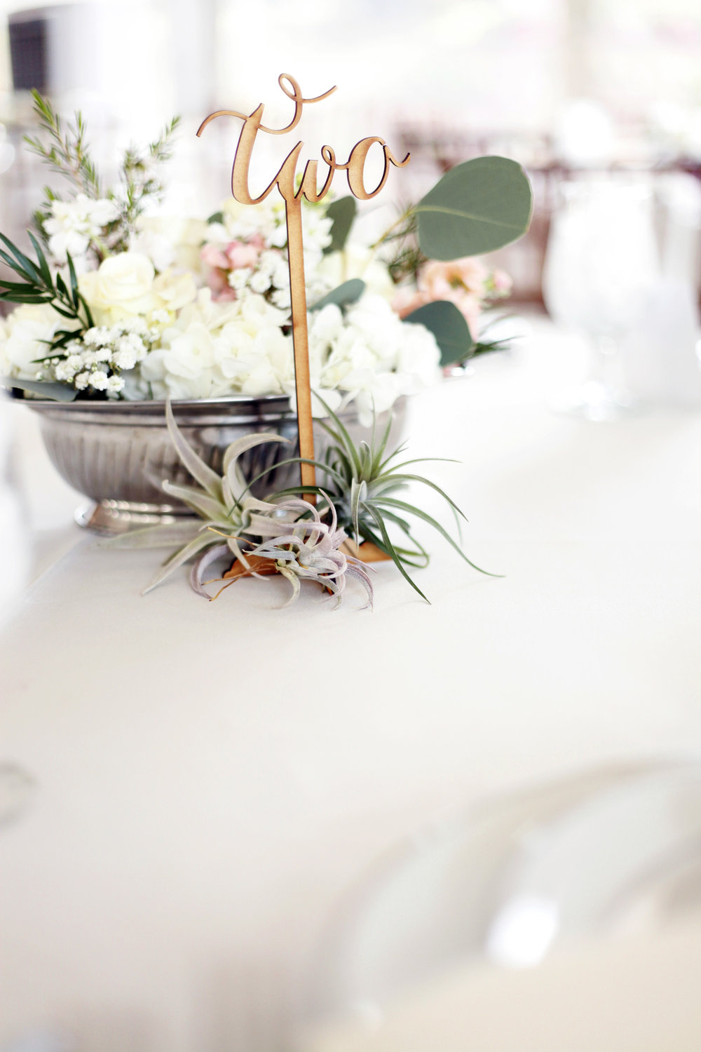 Medium Seasonal Centerpiece with Air Plants