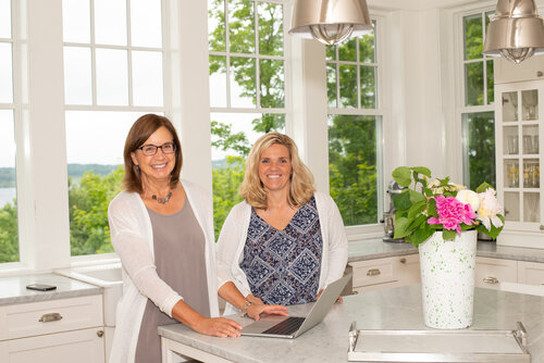 Maureen Penfold (left) and Chrissy ingersoll (right) of Team Maureen & Chrissy - RE/MAX Bayshore