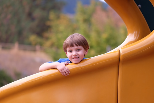 Need a space filler? Put in a playground!