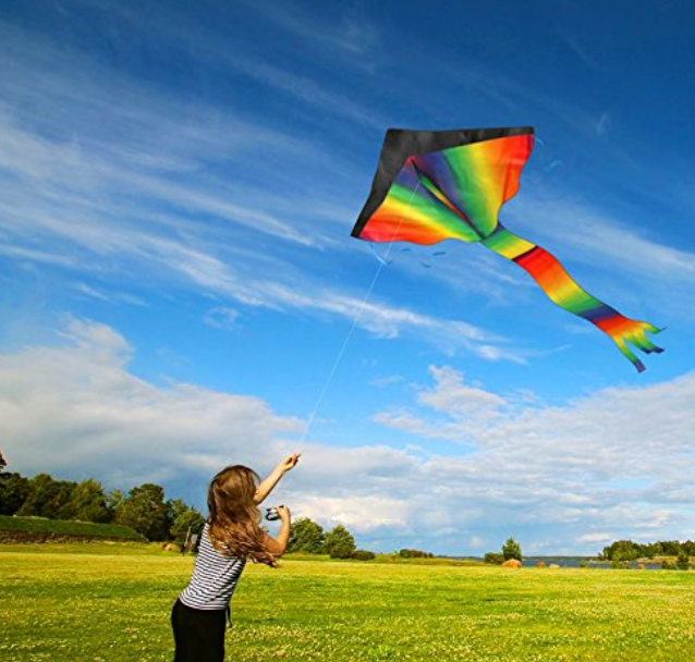 Huge Rainbow Kite. $18.99