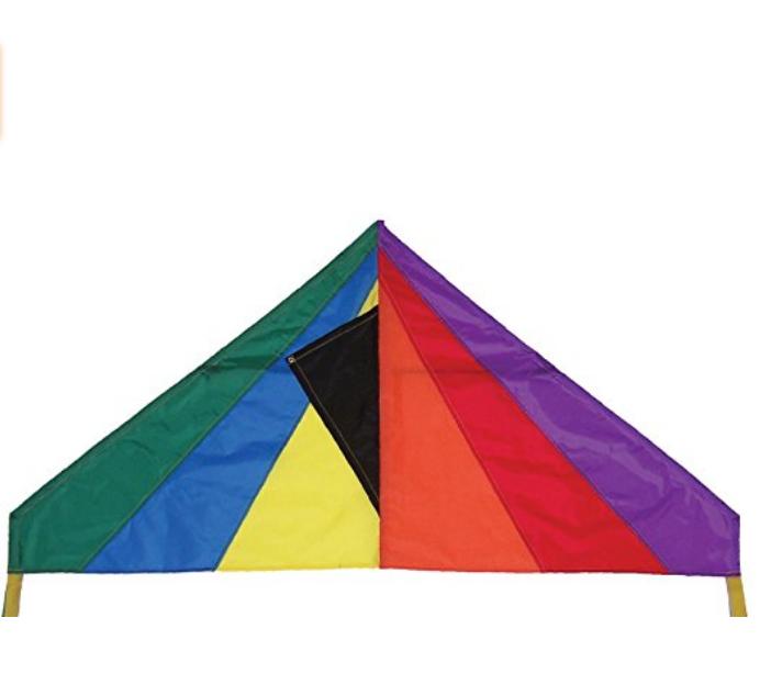 46-Inch Rainbow Delta Kite. $14.84