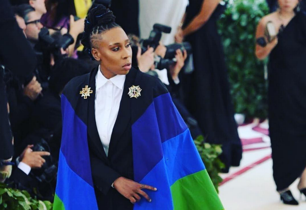 Lena Waithe stood proud at the Met Gala.
