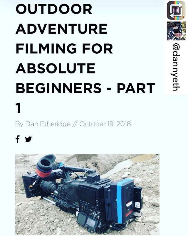 🙌🏻 // Link in bio👆🏻Repost from @dannyeth Have a look at this if you want to read everything I know about photography and filming outside condensed down to a few pages of A4 (shows how much I know!😳). No fee, no subscription, just a high five if you like what you see.👊 - there's a part two in there somewhere if you navigate around👍🏻 @discoveryadventures  #directorofphotography #cameraman #crew #production #filmingadvice #adventurefilming #extremefilming #televisionproduction #filmingexpertise #shooting #onlocation #atfulltilt #dannyetheridge #photography #filmingtips #outdooradventurephoto #filmingforbeginners