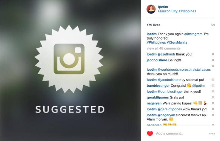 Image result for instagram suggested users 2016