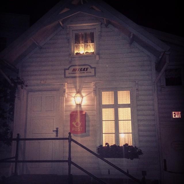 wierd house