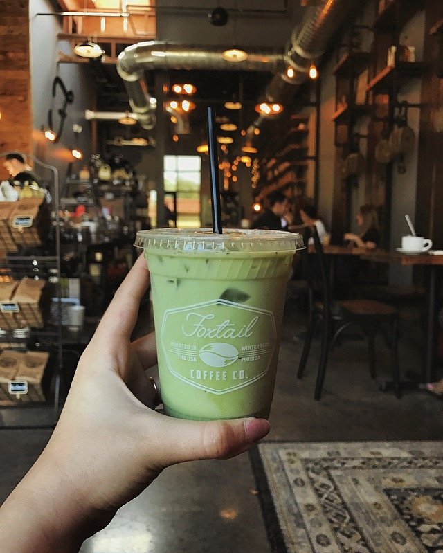 Foxtail Coffee Iced Matcha