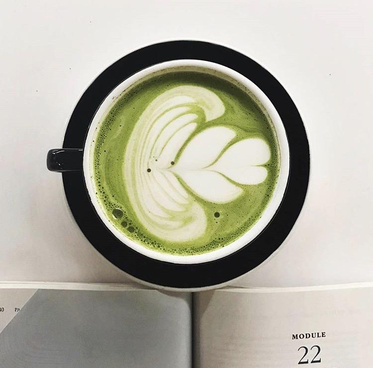 Pop Parlor Matcha Latte