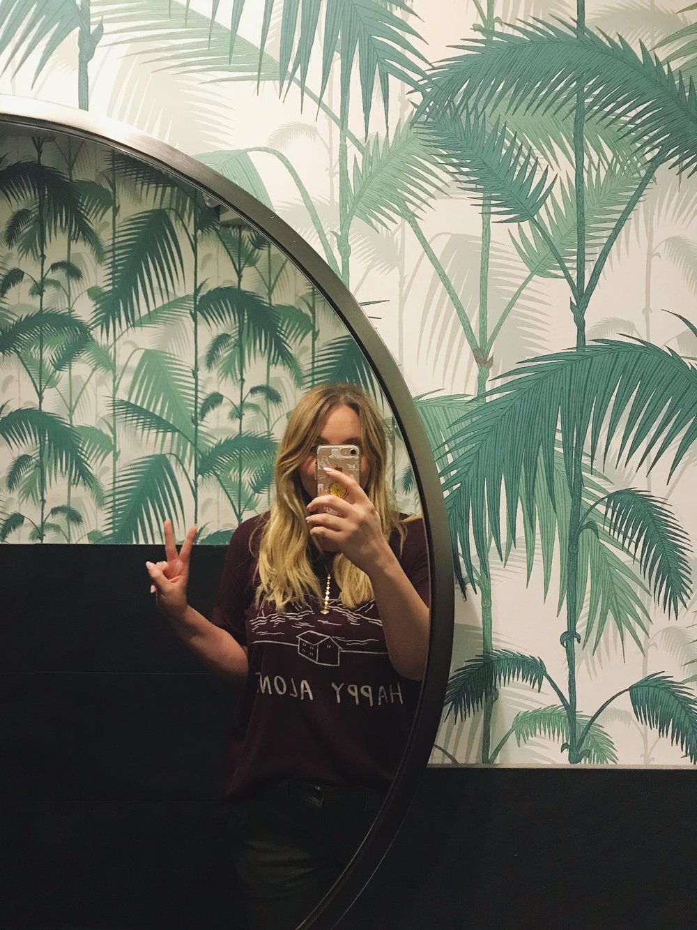 Whatever The Theme Of Your Bathroom Adventure Is At The Guesthouse You Are Surrounded By Calming Wallpaper That Is Absolutely Florida And You Cant Help