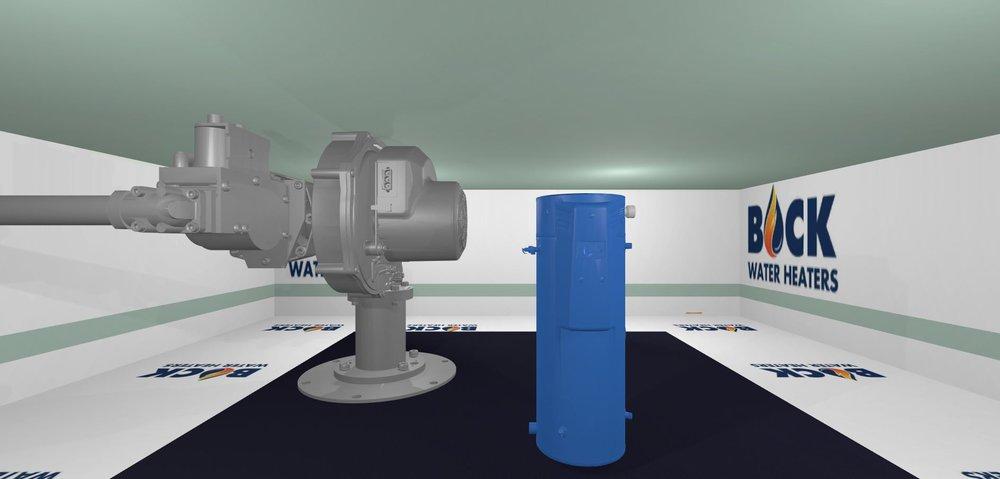 OptiTherm in VR Sandbox - Basic shading with minimal optimization