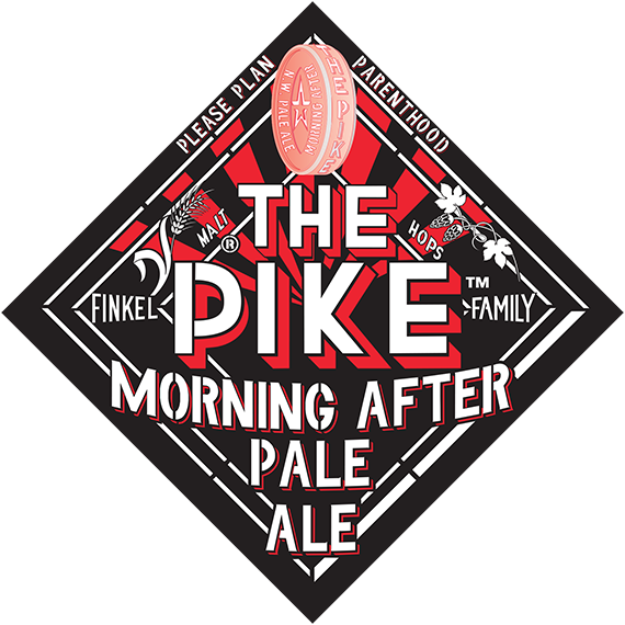 Pike Brewery Pale Ale Logo