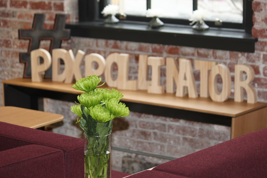 pollinator is... - an experiential workplace pop-up and living-lab focused on human-centric design in the work environment.
