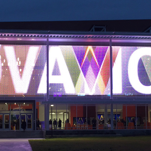 Clemson-university-transparent-mesh-panels-led-lighting-videos-indoor-outdoor-rgb-10twelve.JPG