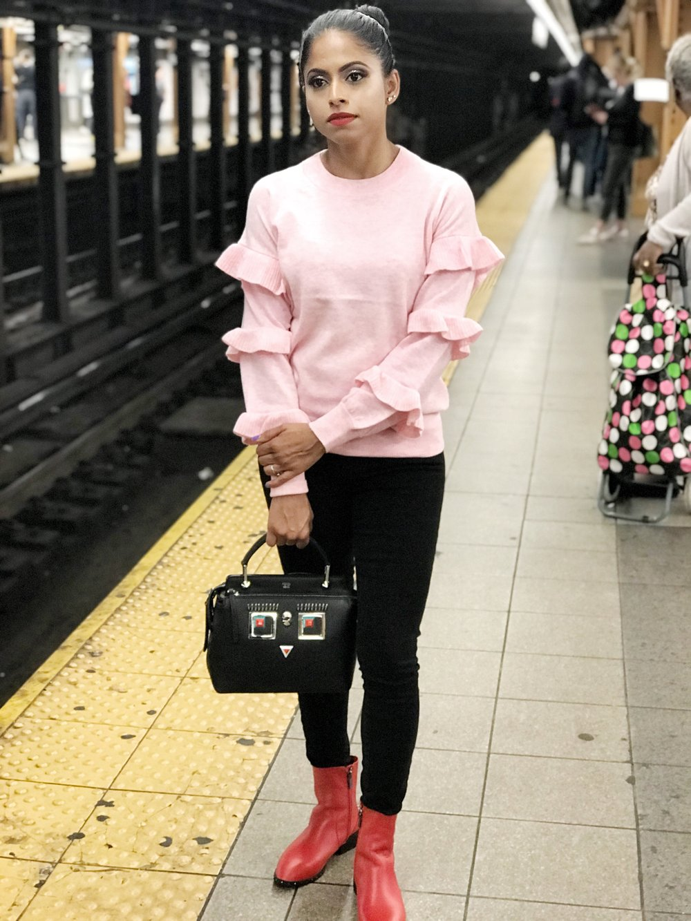 Pairing Red and Pink! — TrendyFitDoc