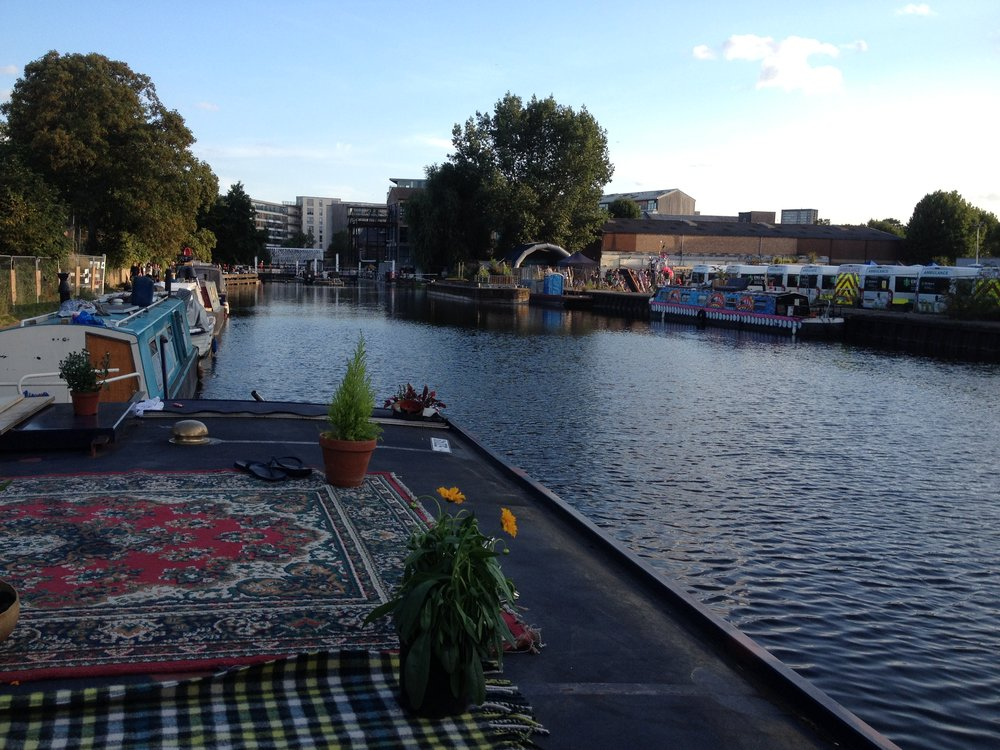 Hackney Houseboat