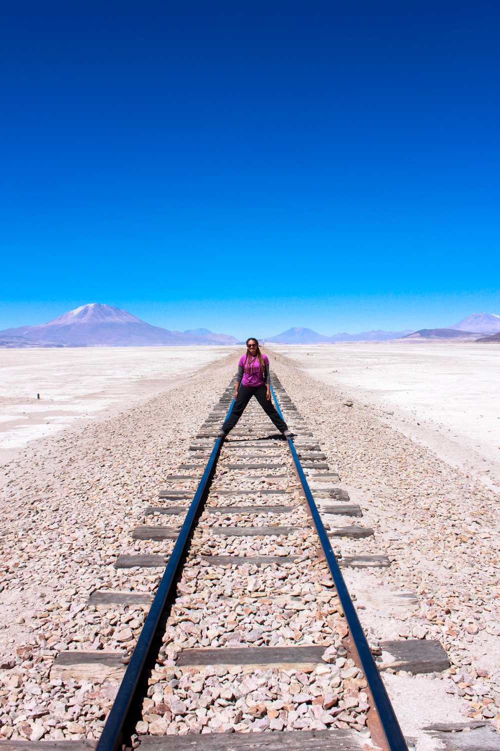 """Hanging out in South East Bolivia. No one around for miles and the most beautiful landscapes I've ever seen."""