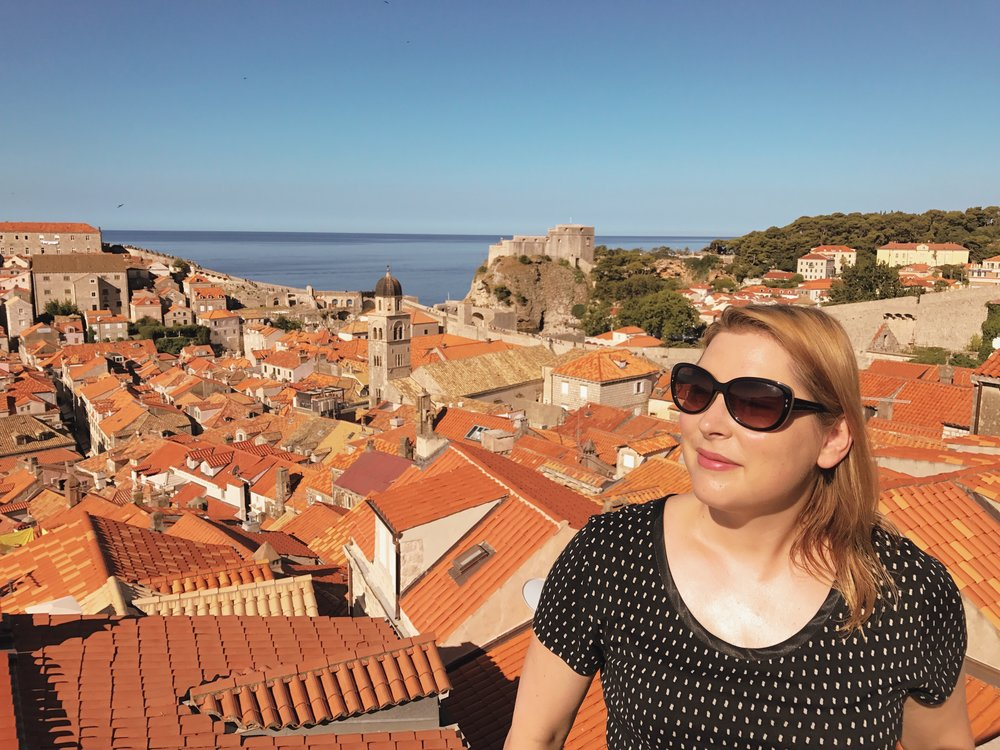 Sarah Mikutel in Dubrovnik