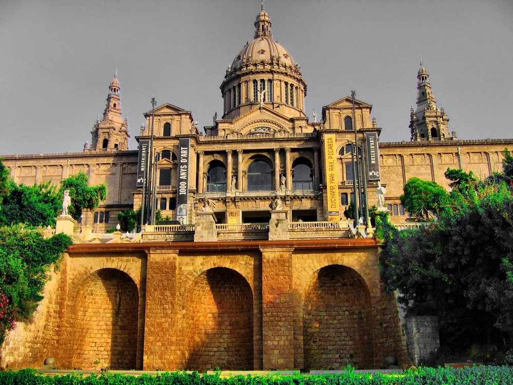 You'll find art everywhere in Barcelona, in the streets and also the museums.