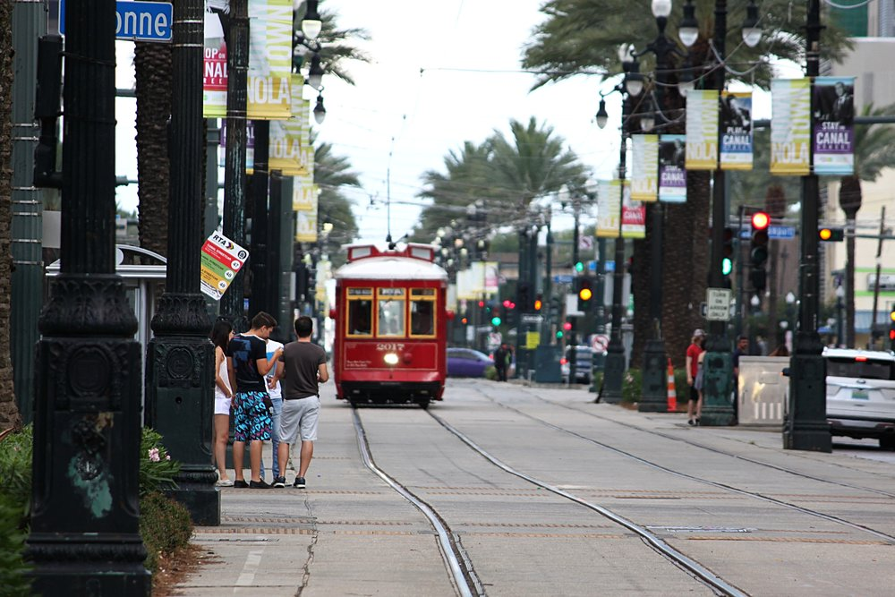 If you can travel by streetcar, why ever wouldn't you?  Photo by Cristal Dyer .