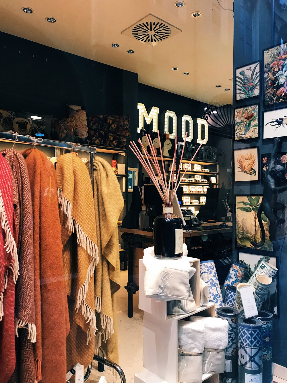 Mood  . Concept stores are just stores that are curated by hipsters. So they are gorgeous and you want to buy everything.