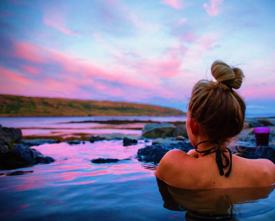 Looking for a luxury spa experience? Blue Lagoon might be perfect for you. Looking for a quieter experience? Go to a hot spring. Photo by  Kaelene .