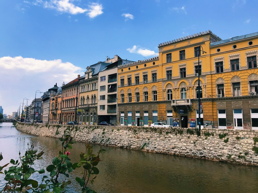You can follow Sarajevo's history through its architecture.