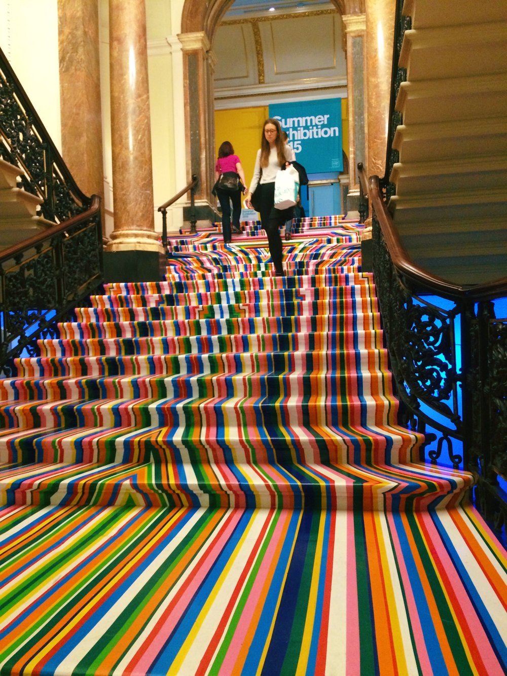 The Royal Academy of the Arts  throws late-night parties tied to their exhibitions. Paint throwing, supper clubs, and experimental cabaret are a few things you'll discover.