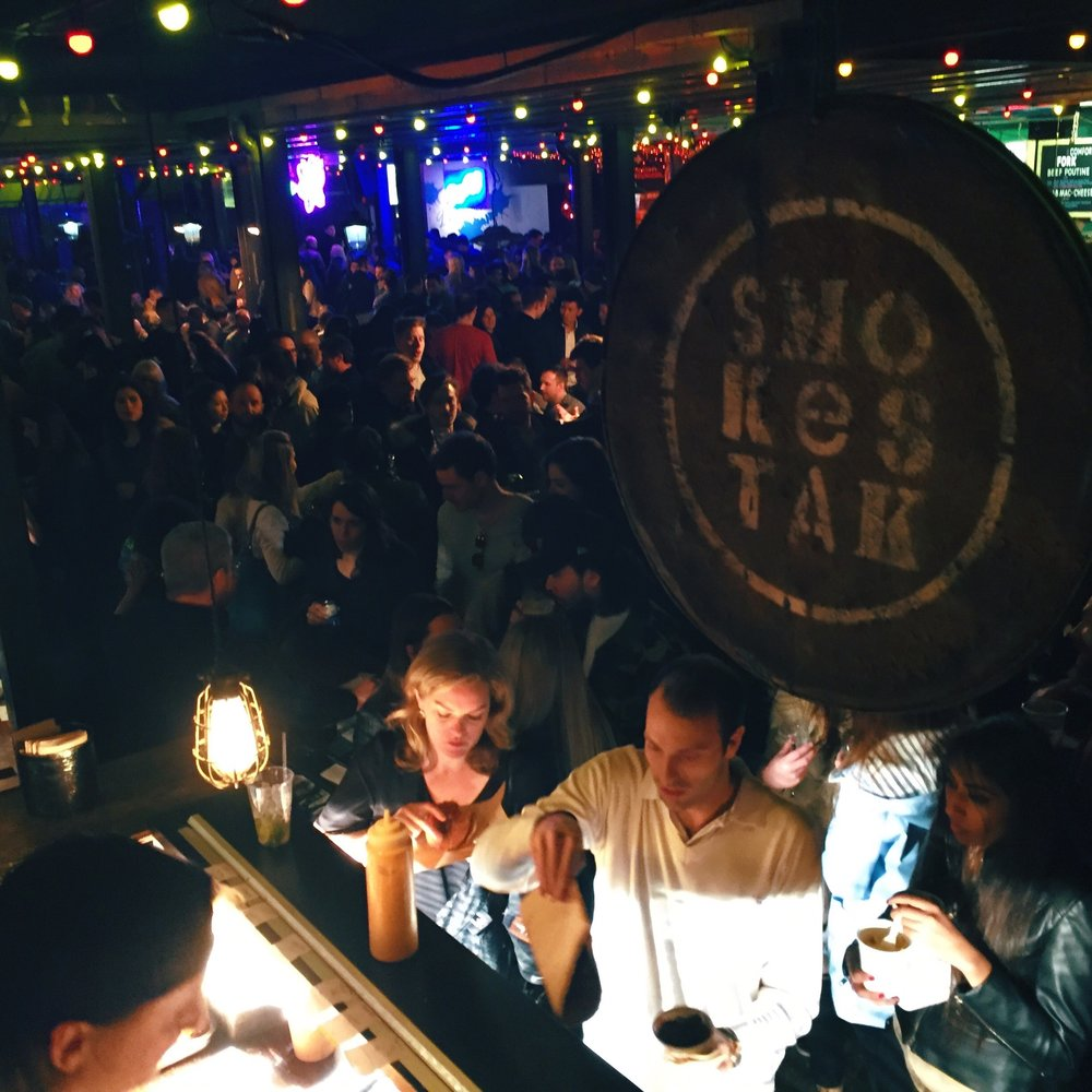 In addition to Dinerama, Street Feast runs similar food/bar halls at Hawker House in Canada Water, Giant Robot in Canary Wharf, Public in Woolwich, and Model Market in Lewisham.