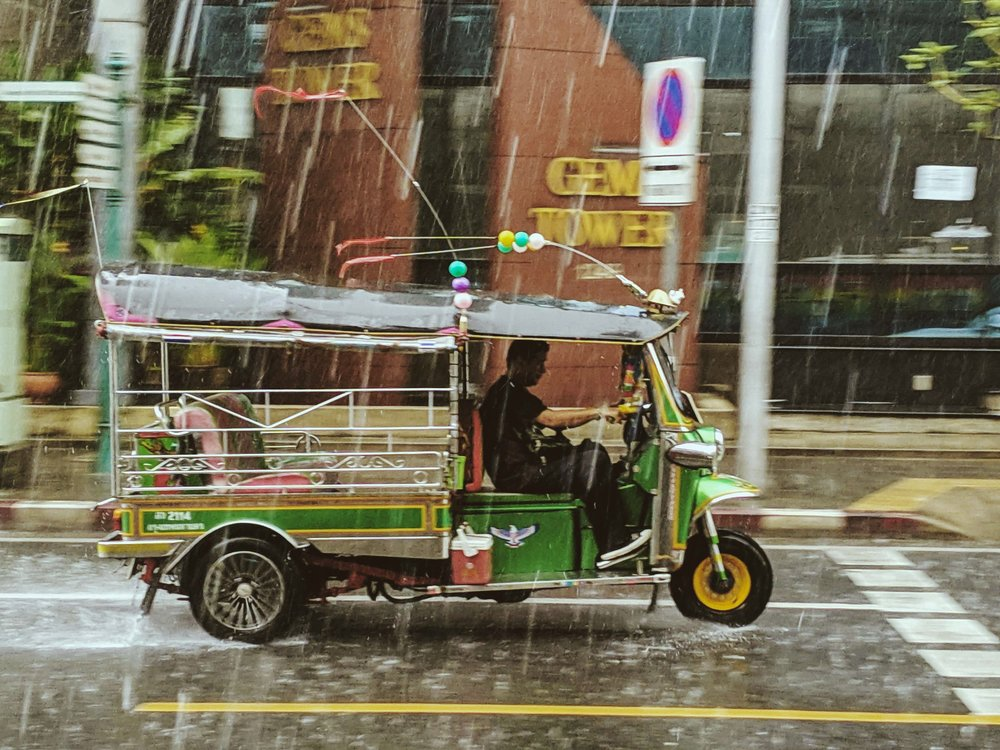 Riding around in a tuk tuk is fun, but be prepared to pay a lot and to take a detour to one of their friend's shops.