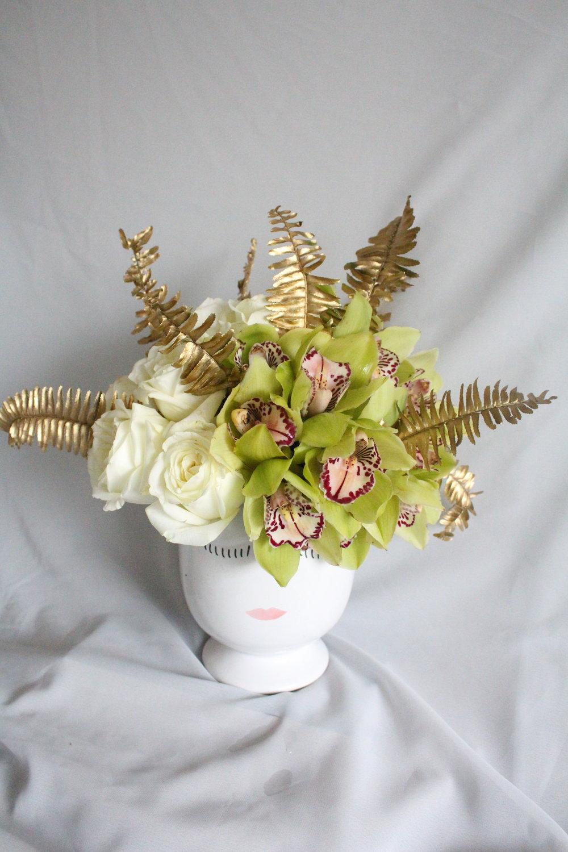 """Small Vase: 4"""" x 5.25""""   $55.00"""