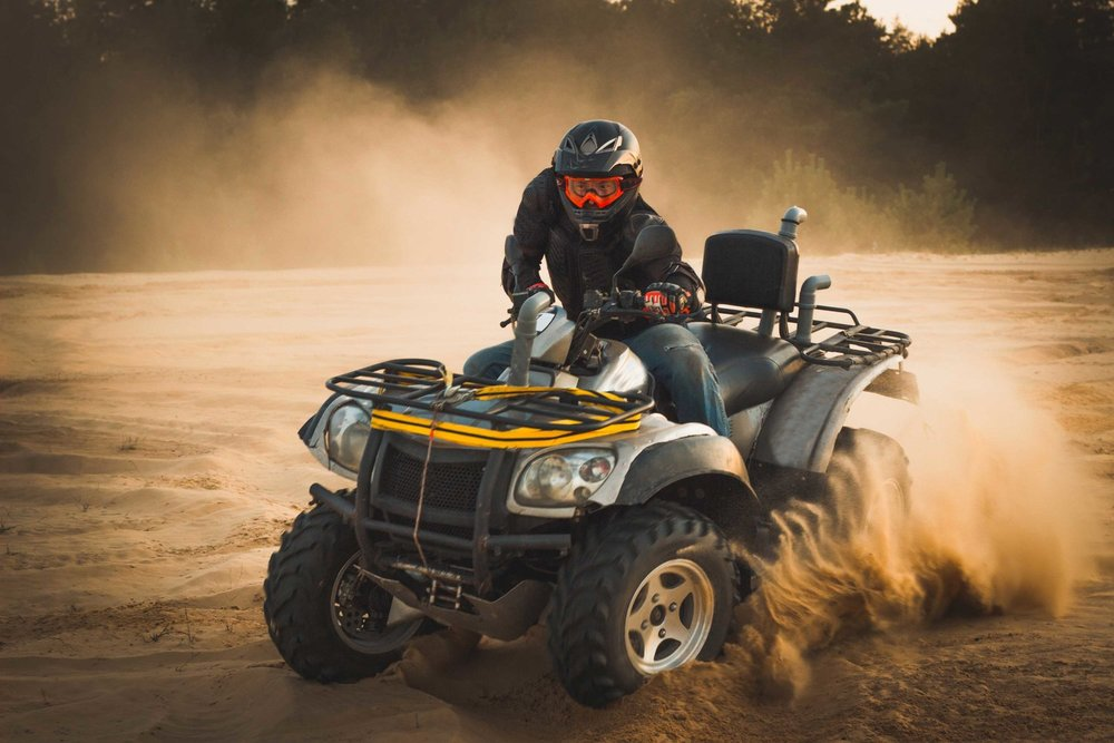 YOU CAN PROTECT FOUR ATV TIRES FOR LESS THAN YOU'D PAY FOR JUST ONE REPLACEMENT TIRE… TALK ABOUT CHEAP INSURANCE! -