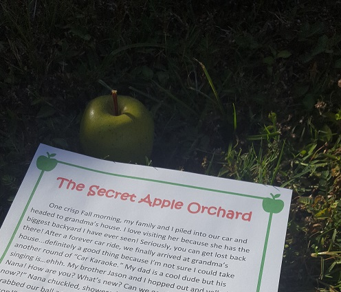 The Secret Apple Orchard - Writing Activity