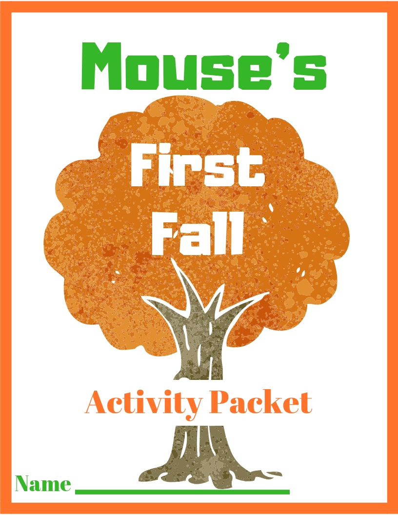 Book: Mouse's First Fall - Book based activity