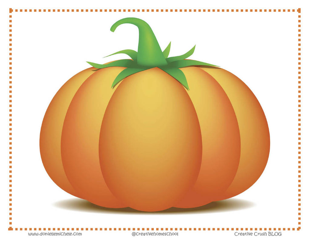 Pumpkin Decorating - Printable