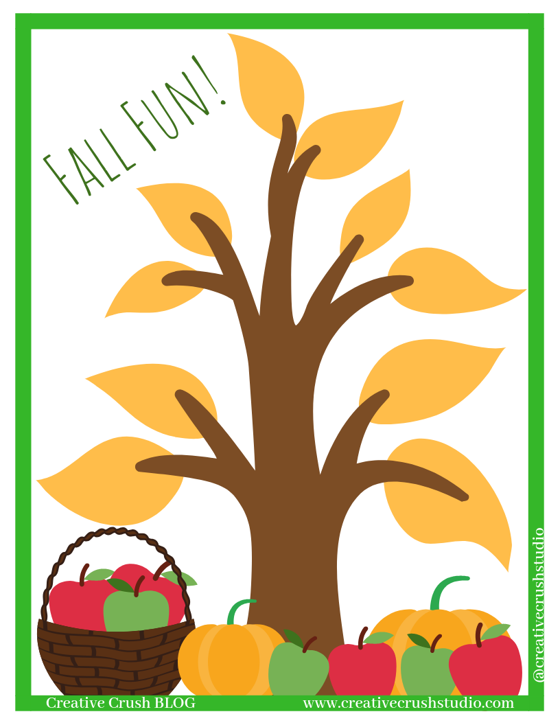 Fall Fun Checklist -