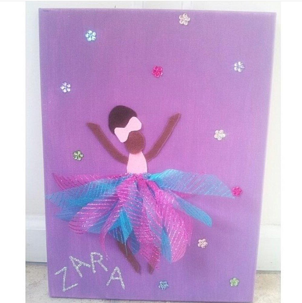 Ballerina Art (Canvas)