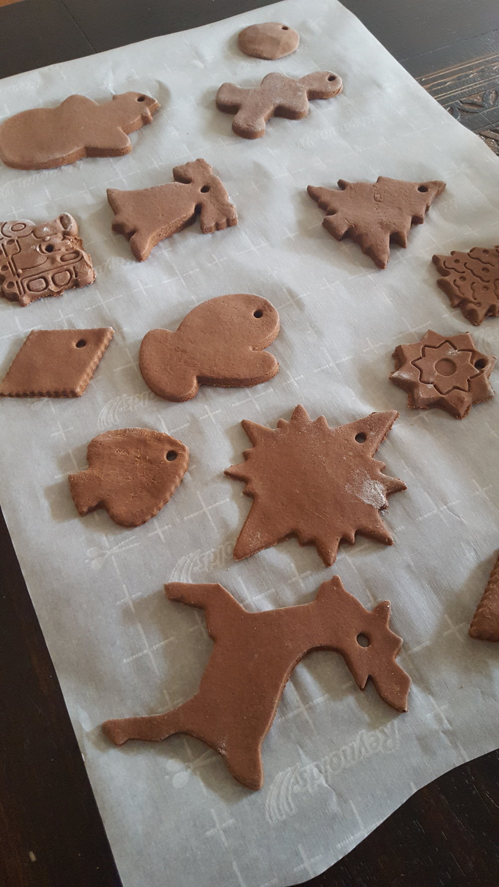 Salt Dough Cookie Ornaments!