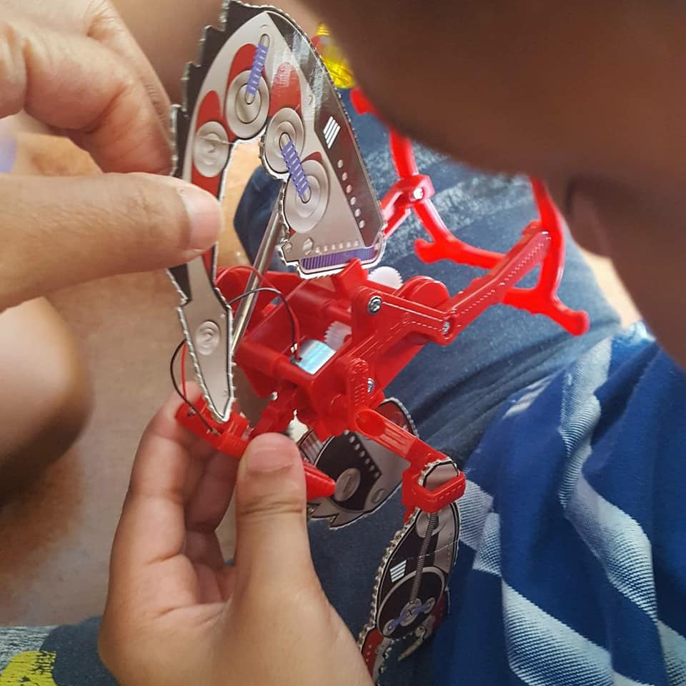 Building a solar bot!