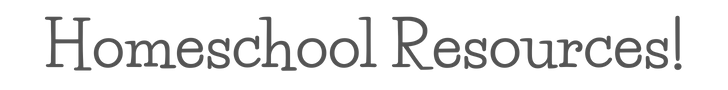 Homeschool Resources Banner.png