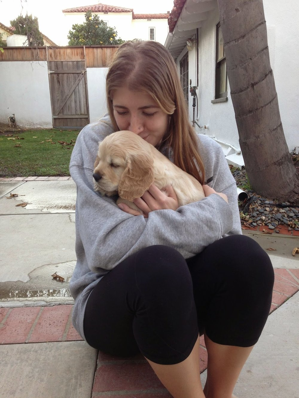 Beautiful Mallory with her puppy Kona.