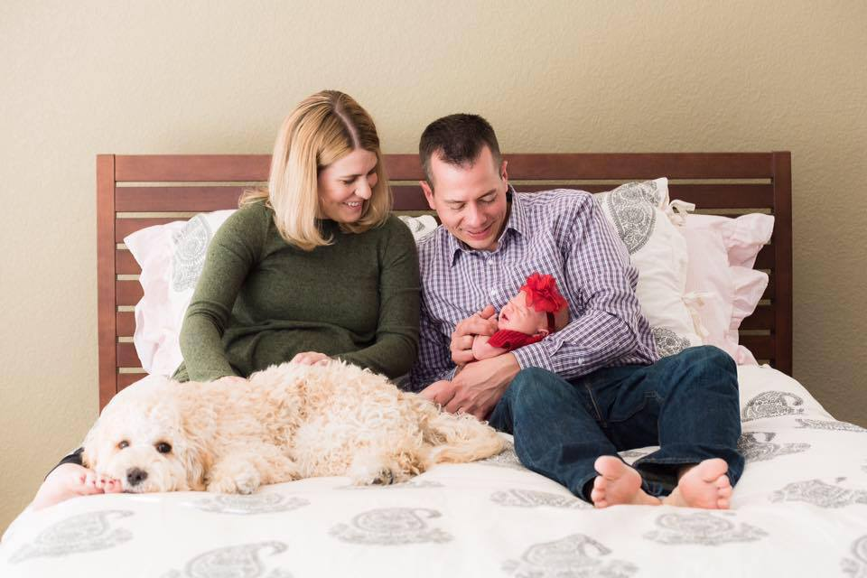 Crosby and his family welcoming a new baby!