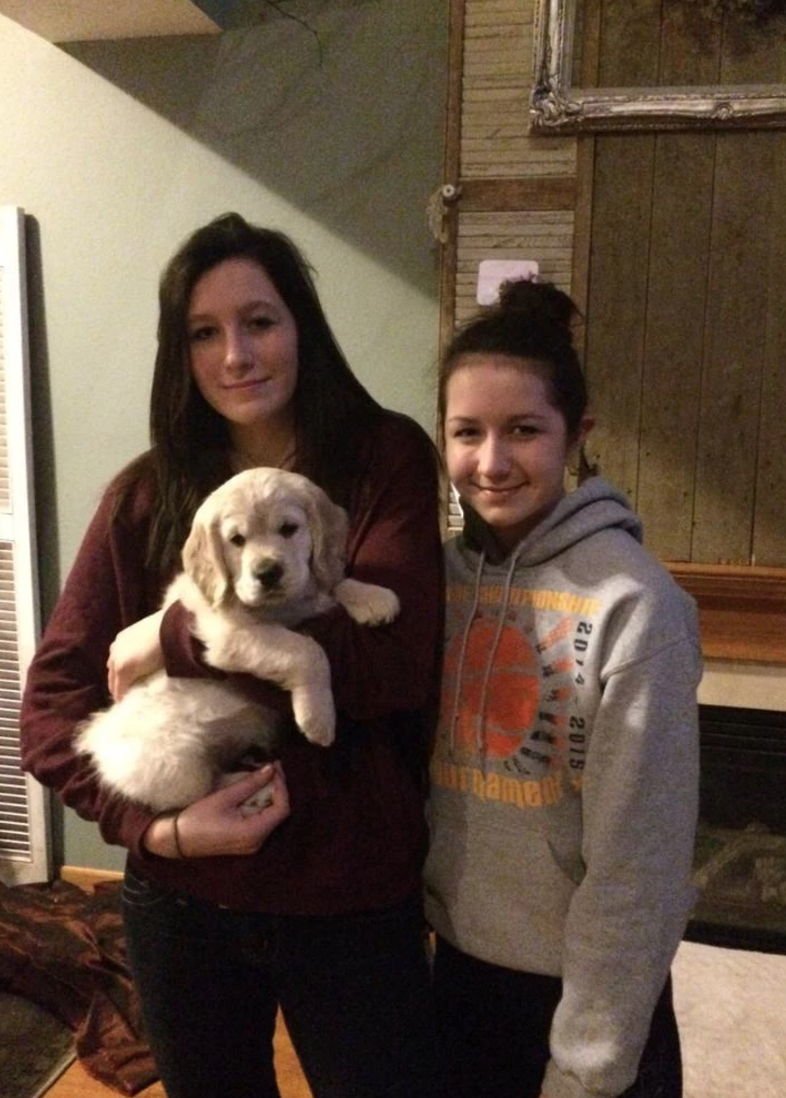 Finn with his sisters!