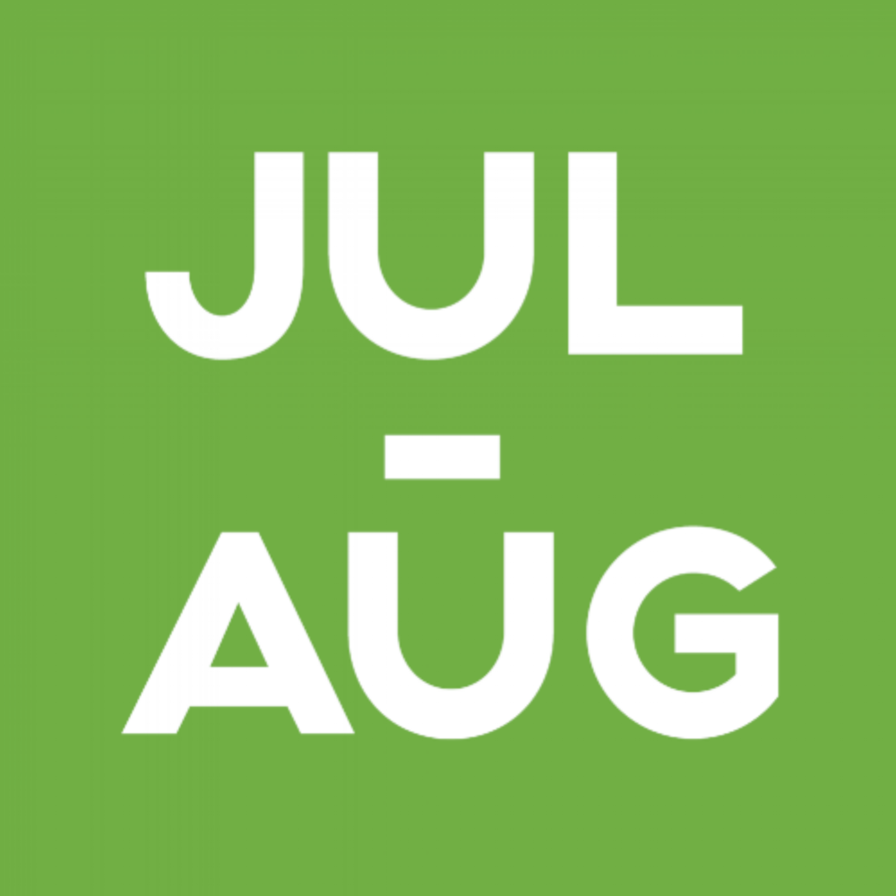 July to August Green Data Block