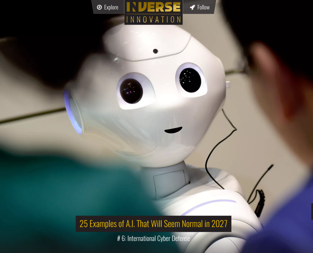 25 Examples of A.I. That Will Seem Normal in 2027