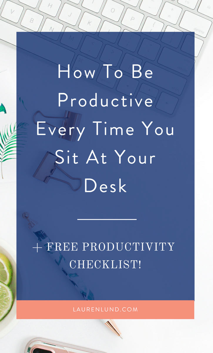 """These step-by-step productivity tips will help any entrepreneur learn how to stop being """"busy"""" and start being productive!"""