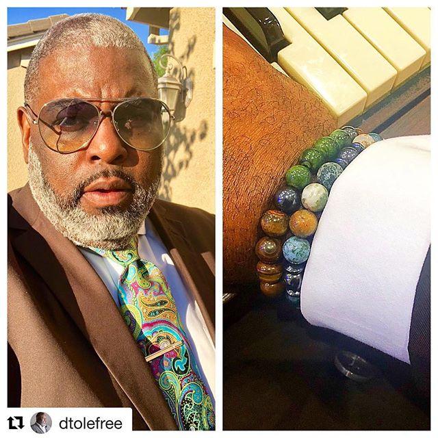 #Repost @dtolefree ・・・ Sunday at @gladtidingscogic tie set by @neckwerksneckwear jewelry by @armcandy_byboogy #ImInTheGame #COGIC #